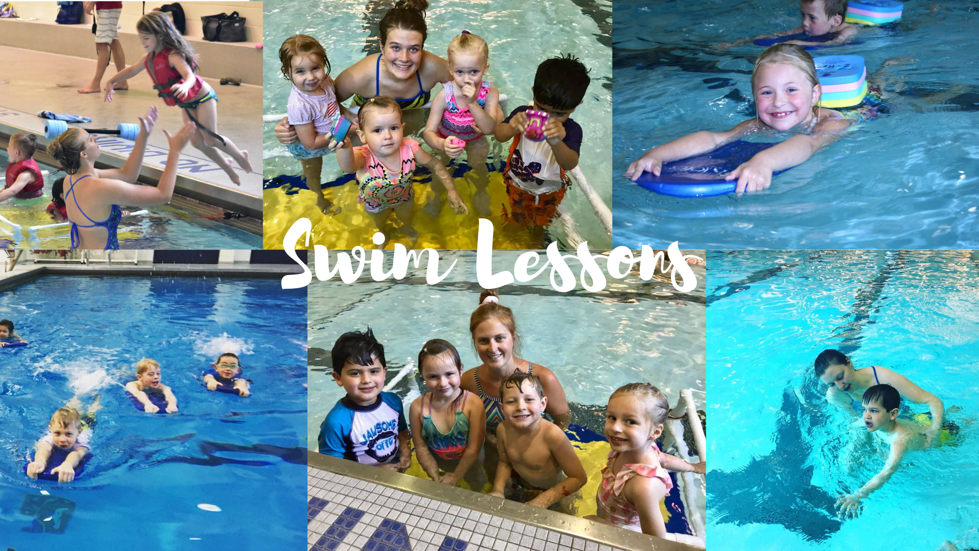 Swim lesson pictures